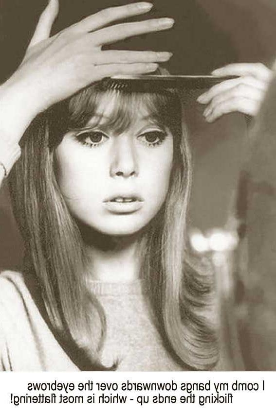 Most Recent Sixties Long Hairstyles With 1960s Long Hairstyle Tips –sixties Model Pattie Boyd (View 10 of 15)