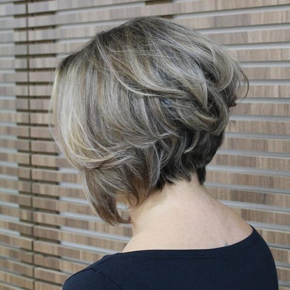 Most Recent Stacked Bob Hairstyles Back View Within Stacked Bob Hairstyles Back View – Popular Haircuts (View 11 of 15)