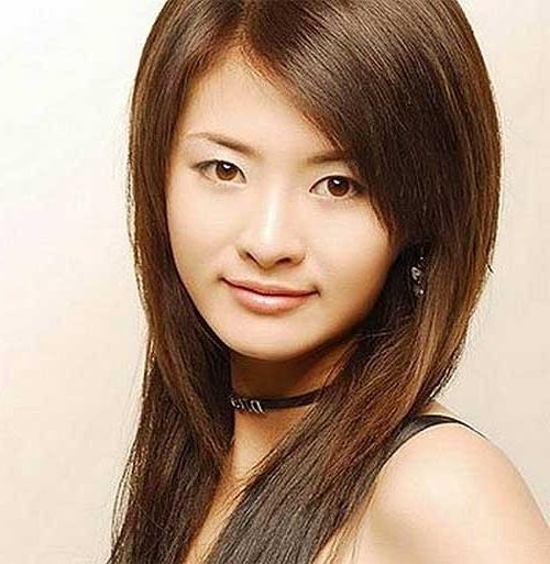 Most Recently Released Asian Long Hairstyles In Best Asian Long Hairstyles | Hairstyles & Haircuts 2016 –  (View 14 of 15)