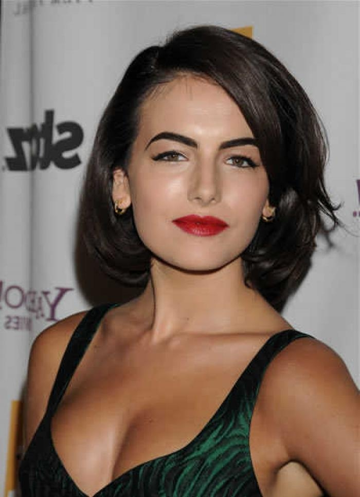 Most Recently Released Camilla Belle Shoulder Length Bob Hairstyles Intended For Camilla Belle Shoulder Length Bob Hairstyles  (View 9 of 15)