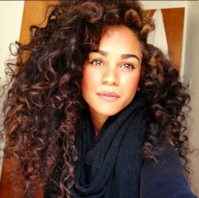 Photo Gallery of Long Hairstyles For Naturally Curly Hair (Viewing 6 ...
