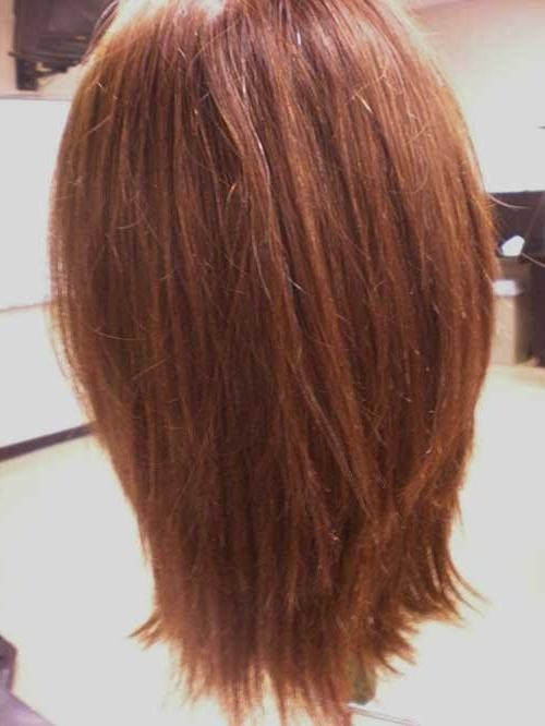 Most Recently Released Long Hairstyles Front And Back View Throughout 15 Long Bob Haircuts Back View | Bob Hairstyles 2017 – Short (View 15 of 15)