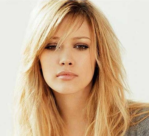 Most Recently Released Long Hairstyles With Bangs And Layers For Round Faces Regarding 20 Haircuts With Bangs For Round Faces | Hairstyles & Haircuts (View 5 of 15)