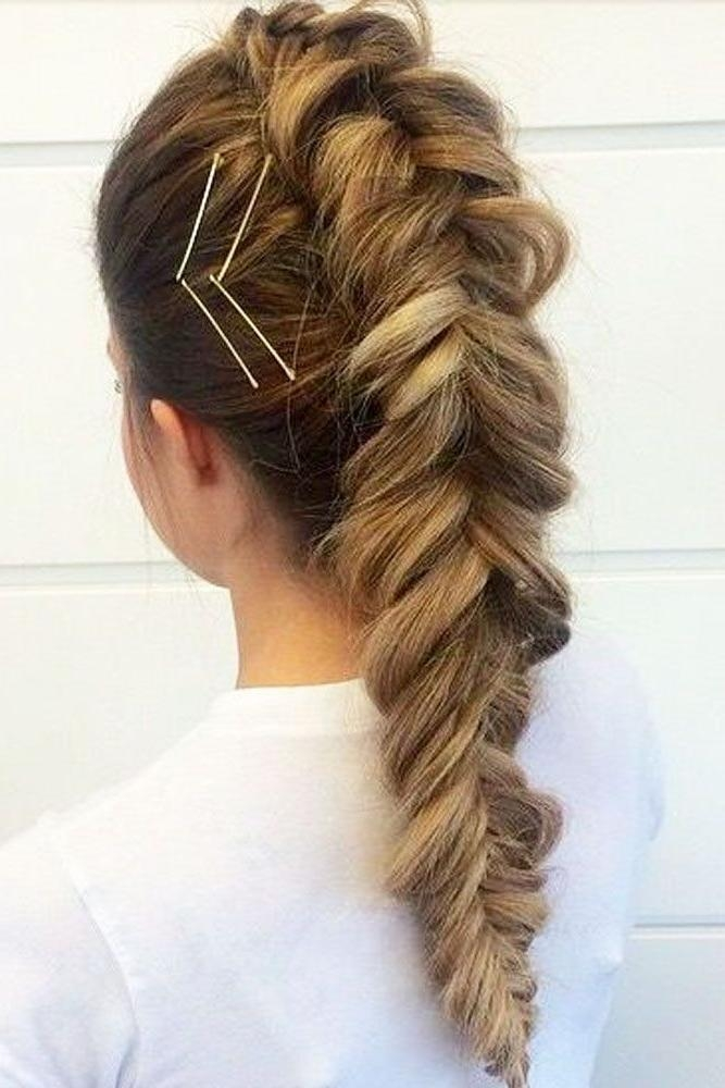 Most Recently Released Long Hairstyles With Bobby Pins In Best 25+ Bobby Pin Hairstyles Ideas On Pinterest | Bobby Pins (View 12 of 15)