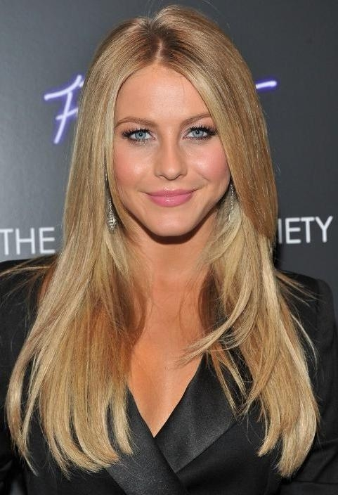 Most Recently Released Long Hairstyles Without Bangs Inside 15 Photo Of Long Hairstyles No Bangs (View 11 of 15)