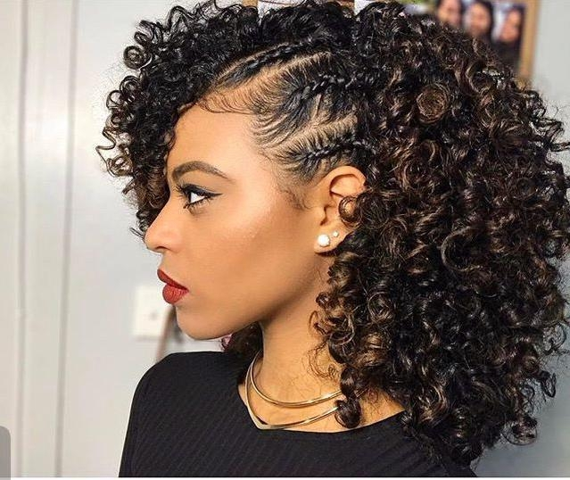 Most Recently Released Natural Long Hairstyles For Black Women Pertaining To Best 25+ Natural Black Hairstyles Ideas On Pinterest | Black (View 4 of 15)