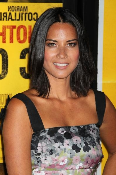 Most Recently Released Olivia Munn Shoulder Length Bob Hairstyles Within More Pics Of Olivia Munn Mid Length Bob (1 Of 8) – Shoulder Length (View 6 of 15)