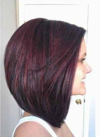 Most Recently Released Stacked Long Haircuts Intended For Best 25+ Stacked Bob Long Ideas On Pinterest | Longer Stacked Bob (View 12 of 15)