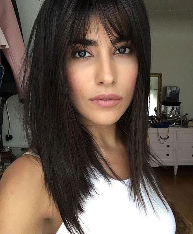 Most Up To Date Black Long Hairstyles With Bangs And Layers With Best 25+ Layers And Bangs Ideas On Pinterest | Long Layers With (View 9 of 15)