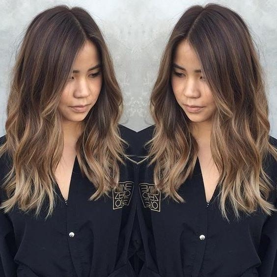 Most Up To Date Cute Medium Long Hairstyles Throughout Best 25+ Medium Long Haircuts Ideas On Pinterest | Brown Hair Cuts (View 12 of 15)