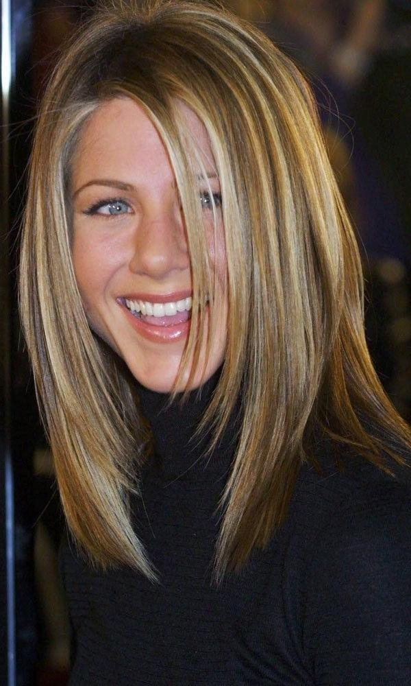 Most Up To Date Jennifer Aniston Long Haircuts Intended For Best 25+ Jennifer Aniston Haircut Ideas On Pinterest | Jennifer (View 4 of 15)