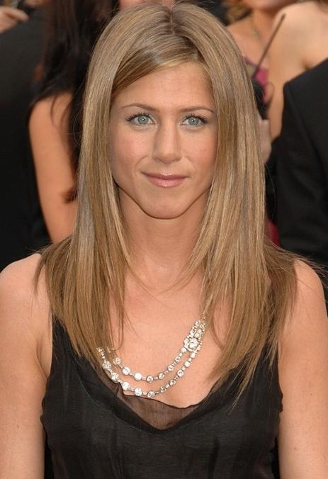 Most Up To Date Jennifer Aniston Long Haircuts Intended For Jennifer Aniston Long Hair Styles: Very Sleek Hair!!! – Hairstyles (View 10 of 15)