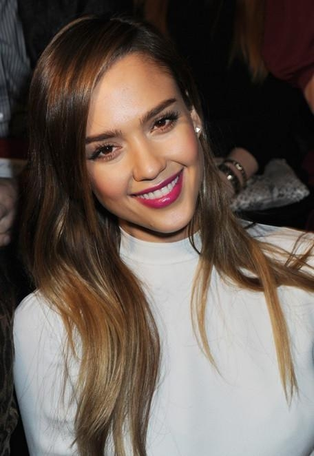 Most Up To Date Jessica Alba Long Hairstyles Intended For Jessica Alba Hairstyles: Straight Hairstyles For Long Hair (View 10 of 15)