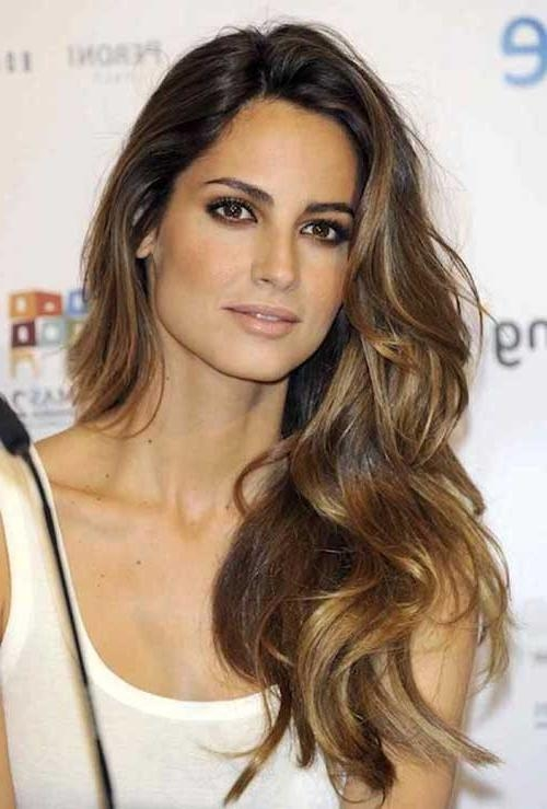 Most Up To Date Long Hairstyles Brunette Layers Pertaining To 40 Brunette Long Hairstyles Ideas | Long Hairstyles 2016 –  (View 11 of 15)