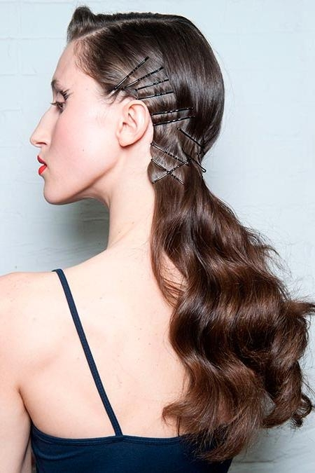 Most Up To Date Long Hairstyles With Bobby Pins Regarding Fab Bobby Pin Hairstyles To Get Obsessed With | Hairstyles, Nail (View 15 of 15)