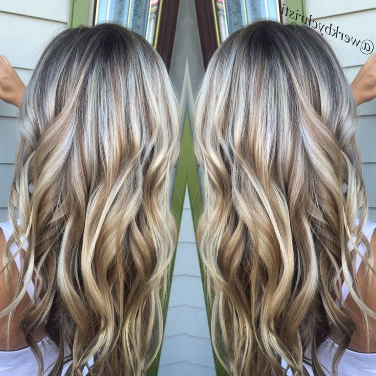 Most Up To Date Long Hairstyles With Highlights And Lowlights With Regard To 300 Best Highlights & Lowlights Images On Pinterest | Hairstyles (View 12 of 15)