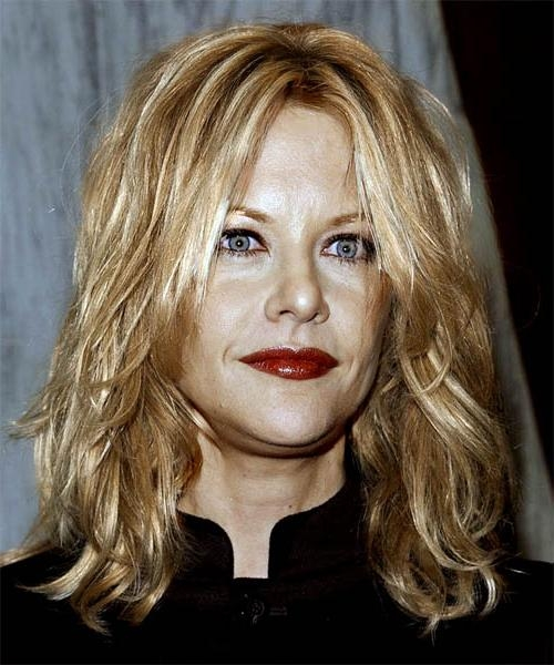 Most Up To Date Meg Ryan Long Hairstyles Regarding Meg Ryan Long Wavy Casual Hairstyle (View 11 of 15)