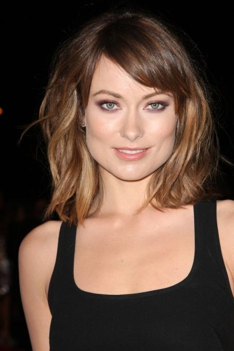 Most Up To Date Olivia Wilde Bob Hairstyles Within 40 Best Long Bob Hairstyles (View 4 of 15)
