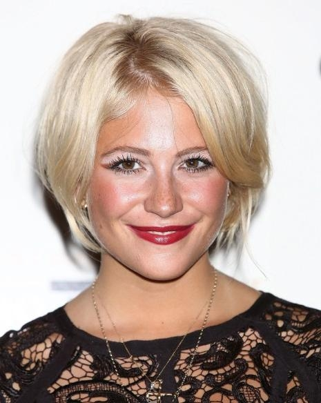 Most Up To Date Pixie Lott Bob Hairstyles Within Pixie Lott Hairstyles – Popular Haircuts (View 2 of 15)