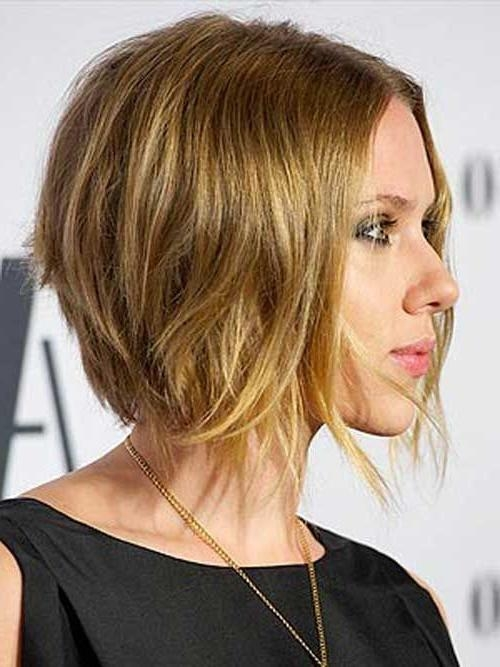 up to date haircuts 15 photo of johansson asymmetrical choppy bob 5391
