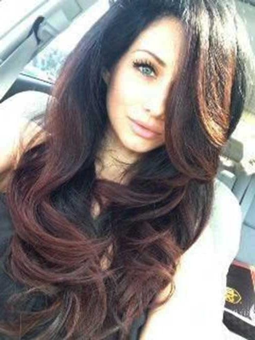 Newest Dark Long Hairstyles Throughout 25+ Long Dark Brown Hairstyles | Hairstyles & Haircuts 2016 – (View 3 of 15)
