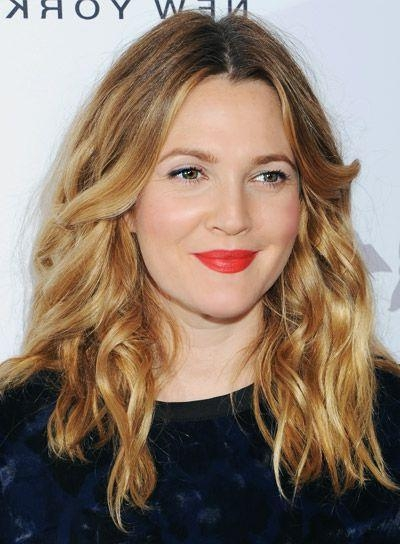 Newest Drew Barrymore Shoulder Length Bob Hairstyles In Best 25+ Drew Barrymore Hair Ideas On Pinterest (View 12 of 15)
