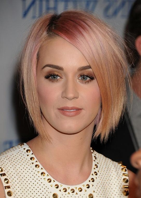 Newest Katy Perry Bob Hairstyles Pertaining To Katy Perry Hairstyles – Celebrity Latest Hairstyles (View 2 of 15)