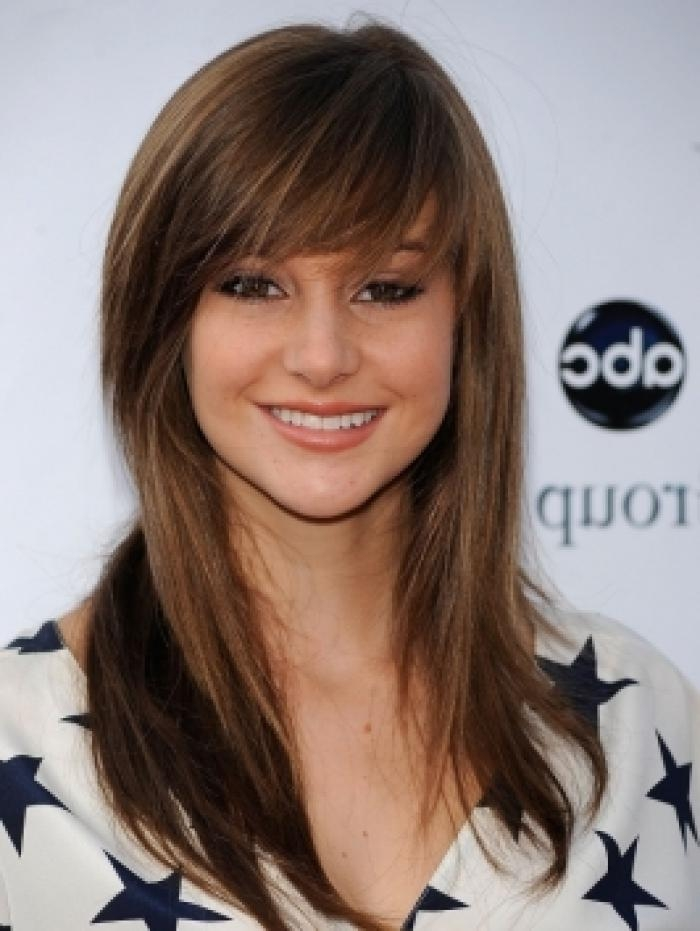 Newest Long Haircuts With Side Bangs Inside Side Bang Haircuts – Haircuts Models Ideas (View 12 of 15)