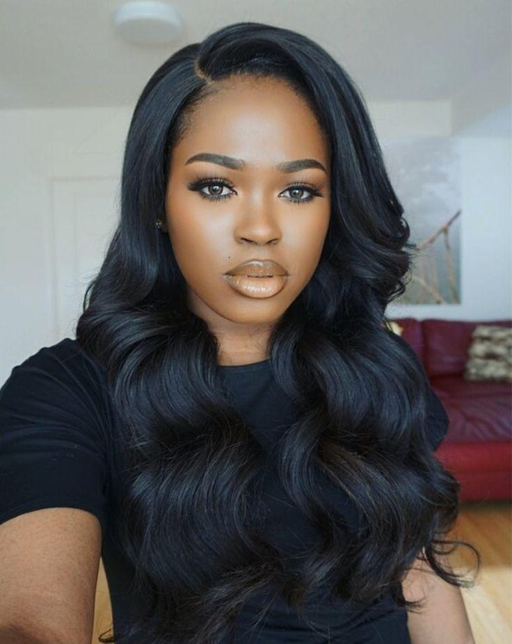 Newest Long Hairstyles For Black Girls With 130 Best Straight Hair Extensions Images On Pinterest | African (View 12 of 15)