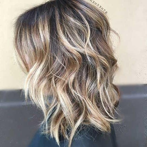 Newest Long Hairstyles With Layers And Highlights Inside Best 25+ Layered Lob Ideas On Pinterest | Lob Layered Haircut (View 12 of 15)
