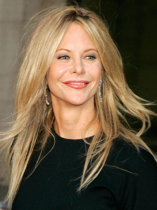 Newest Meg Ryan Long Hairstyles For Meg Ryan – Page (View 13 of 15)