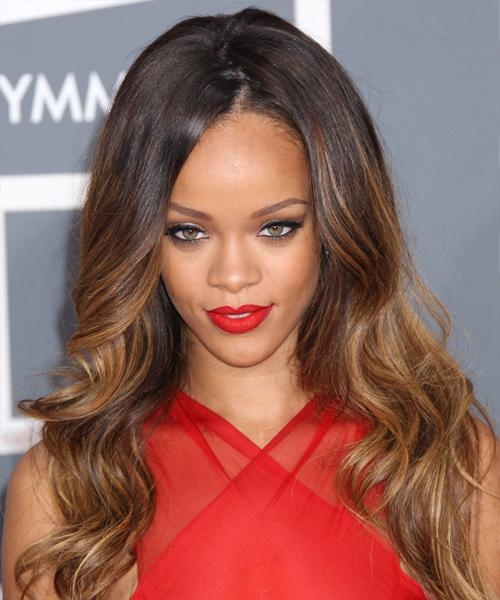 Newest Rihanna Long Hairstyles With Regard To Rihanna Hairstyles For 2017 | Celebrity Hairstyles (View 15 of 15)