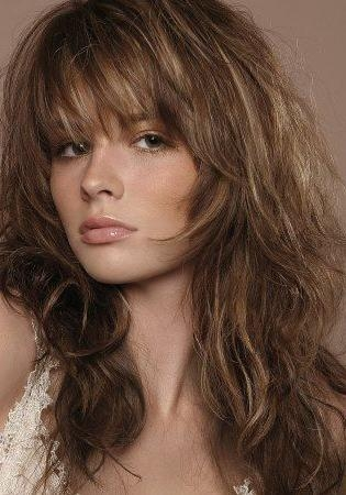 Newest Short Layered Long Hairstyles For Best 25+ Long Choppy Layers Ideas On Pinterest | Long Choppy (View 12 of 15)
