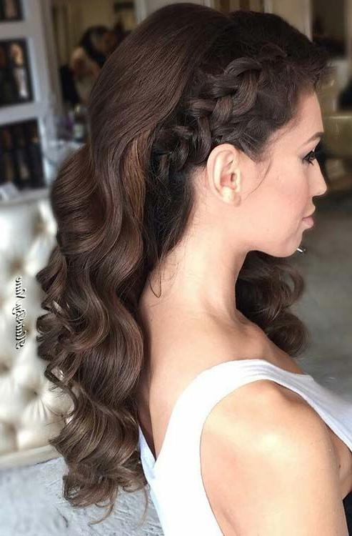 Newest Side Long Hairstyles Intended For Best 25+ Bridesmaid Side Hairstyles Ideas On Pinterest | Side (View 15 of 15)