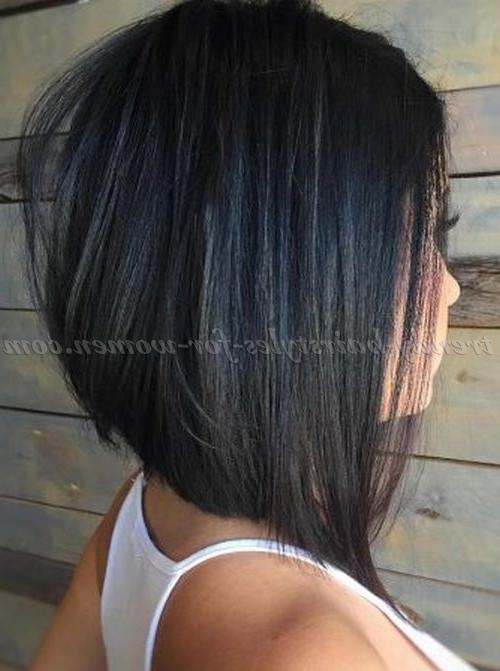 stacked haircut medium length shoulder length stacked haircut haircuts models ideas 2884 | newest stacked long haircuts with regard to medium length hairstyles for straight hair stacked long bob