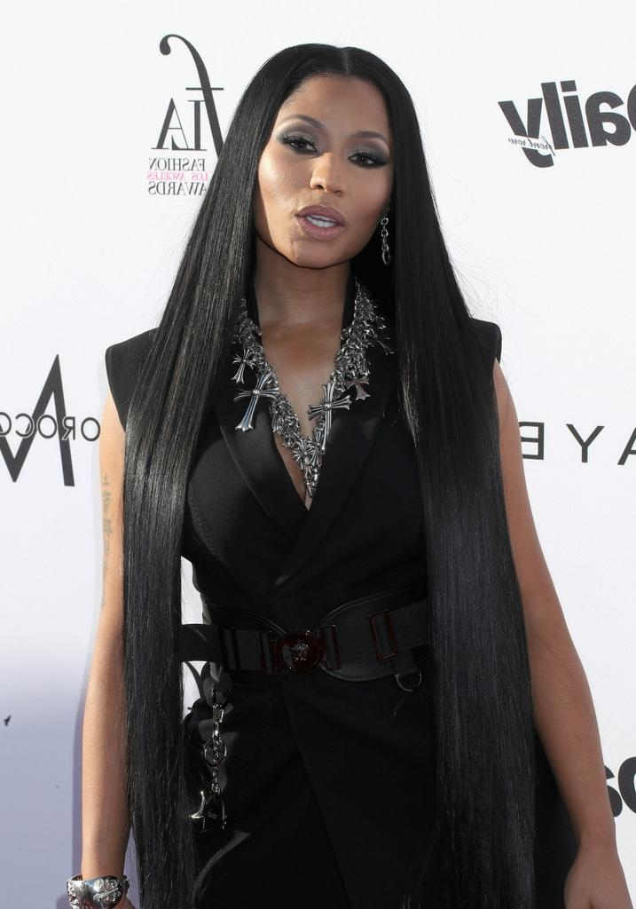 Featured Photo of Nicki Minaj Long Hairstyles