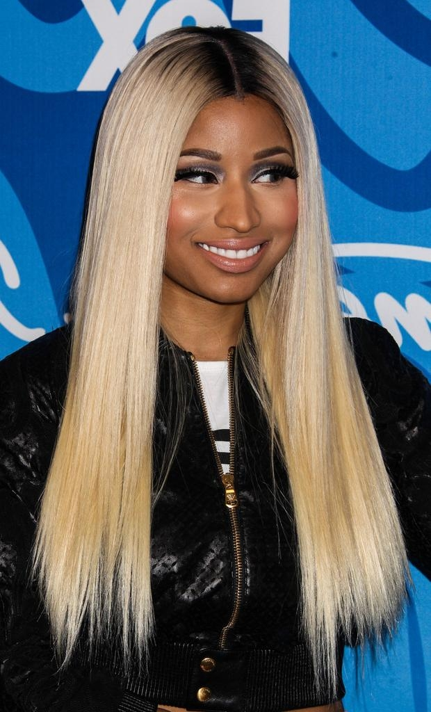Nicki Minaj Long Straight Cut – Nicki Minaj Long Hairstyles Looks With Nicki Minaj Long Hairstyles (View 10 of 15)