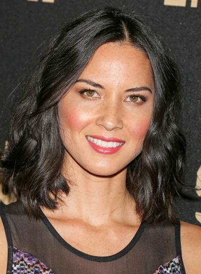Olivia Munn – Beauty Riot In Well Liked Olivia Munn Shoulder Length Bob Hairstyles (View 7 of 15)