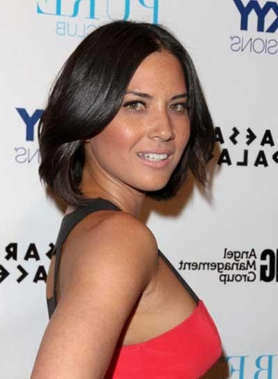 Olivia Munn – Beauty Riot Within Best And Newest Olivia Munn Shoulder Length Bob Hairstyles (View 8 of 15)