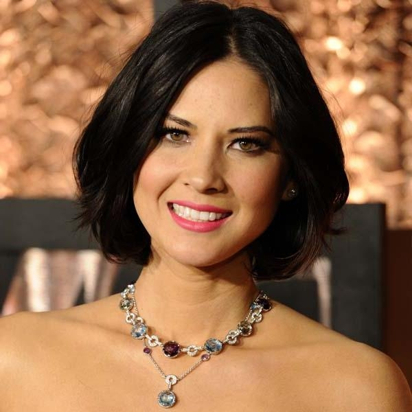 Olivia Munn Best Celebrity Bob Hairstyles – New Hairstyles Inside Most Up To Date Olivia Munn Bob Hairstyles (View 7 of 15)