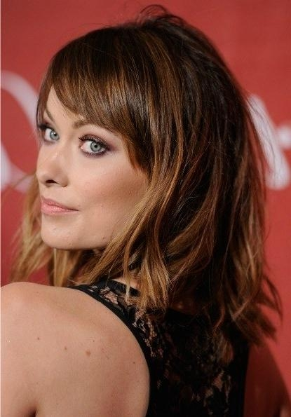 Olivia Wilde Cuts Hair, Inspires Women Everywhere To Do The Same Throughout Most Popular Olivia Wilde Bob Hairstyles (View 15 of 15)