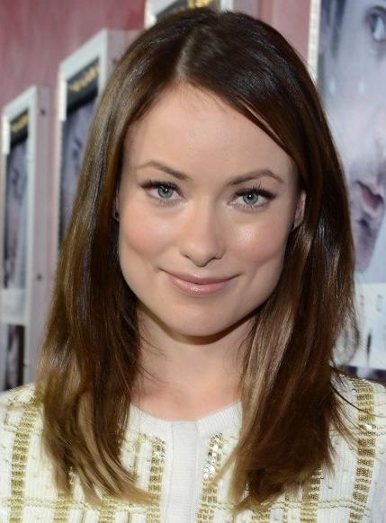 Olivia Wilde Medium, Straight Hairstyles 2013 – Popular Haircuts With Regard To Newest Olivia Wilde Bob Hairstyles (Gallery 11 of 15)