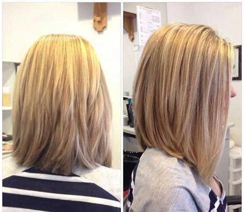 Peinados, Pelo Y Corte For Best And Newest Long Bob Hairstyles Back View (View 5 of 15)
