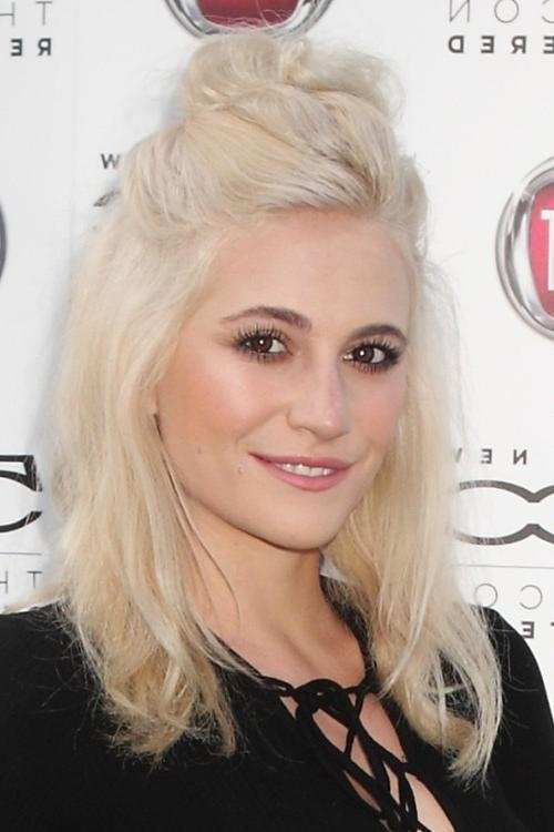 Pixie Lott's Hairstyles & Hair Colors (View 9 of 15)