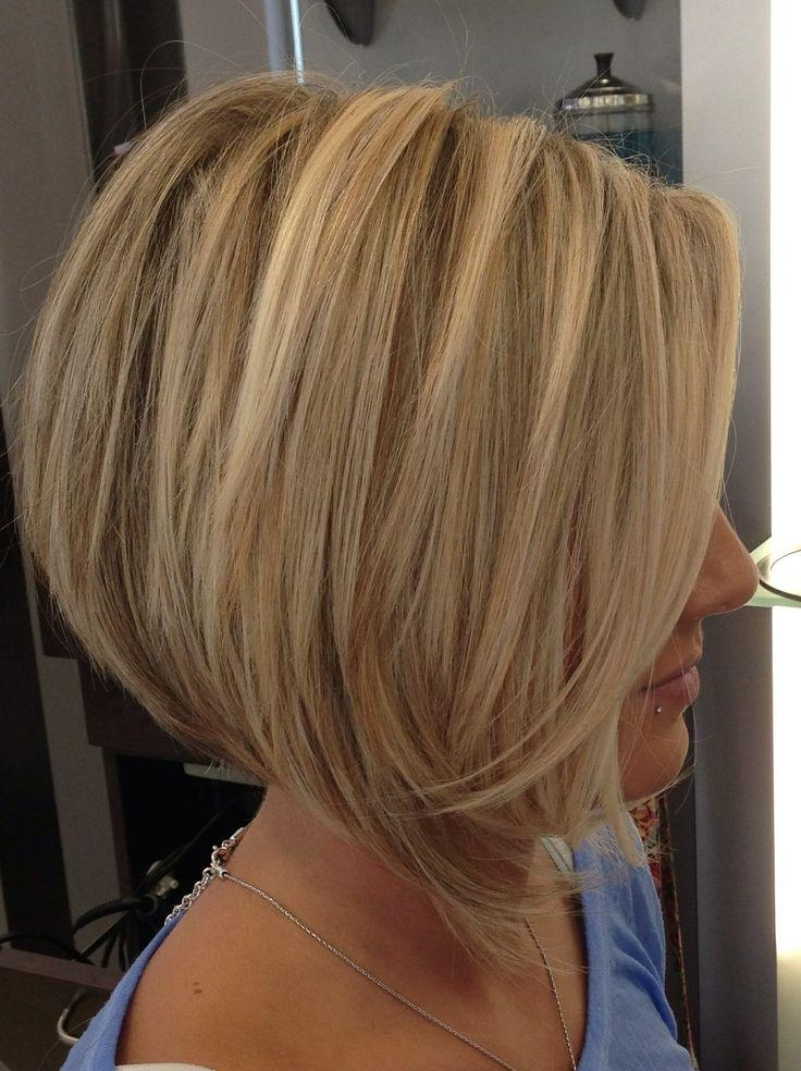 Photo Gallery Of Layered Inverted Bob Haircut Viewing 7 Of 15 Photos