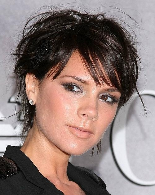 Popular Victoria Beckham Graduated Choppy Bob Hairstyles Inside Victoria Beckham Graduated Choppy Bob Hairstyles – New Hairstyles (View 11 of 15)