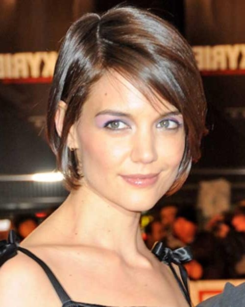 Featured Photo of Katie Holmes Short Bob Hairstyles