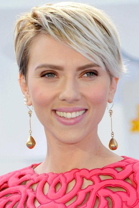 Preferred Scarlett Johansson Asymmetrical Choppy Bob Hairstyles With 10 Of The Hottest Haircuts Right Now – Hair World Magazine (View 11 of 15)