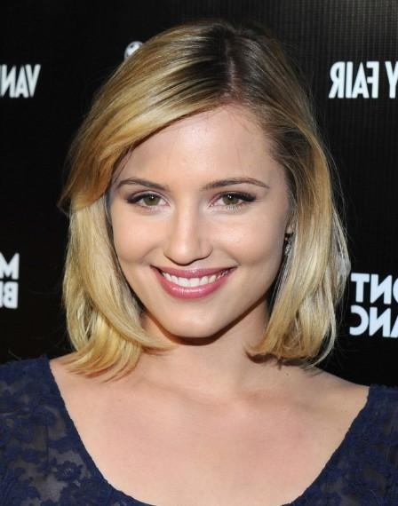 Recent Dianna Agron Bob Hairstyles Inside Dianna Agron Bob Hairstyle – Popular Haircuts (View 11 of 15)