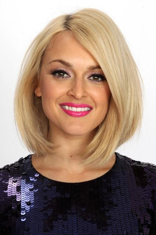 Featured Photo of Fearne Cotton Shoulder Length Bob Hairstyles
